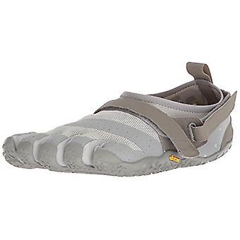 Vibram V-Aqua Mens Water Sports Trail Five Fingers Grip Shoes Trainers - Grey