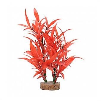 Fluval Rote Hygrophila-Pflanze (Fische , Aquariumsdeko , Künstliche Pflanzen)