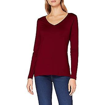 ESPRIT 080EE1K319 T-Shirt, 603/Bordeaux Rood 4, S Donna