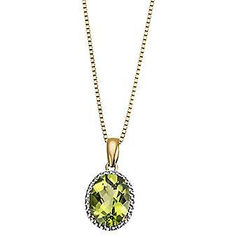 goldmaid 9_k_(375) yellow gold Oval Peridoto