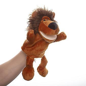 Leijonan käsinukke eläin lelu mielikuvituksellinen pelata, sukka, tytöt, pojat
