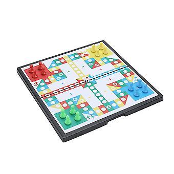 Ludo Ludo Board Game barnas magnetiske pedagogiske leker desktop magnetisk