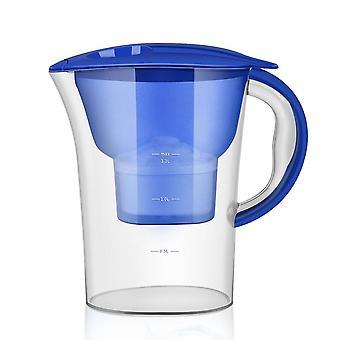 2.5L pichet d'eau transparent filtre domestique bouteille bouilloire purificateur de charbon actif