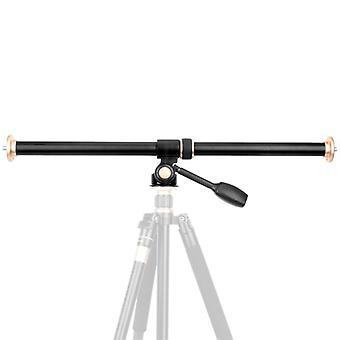 Horizontal Bar Camera Mount Tripod Accessory Aluminum Alloy Rotatable