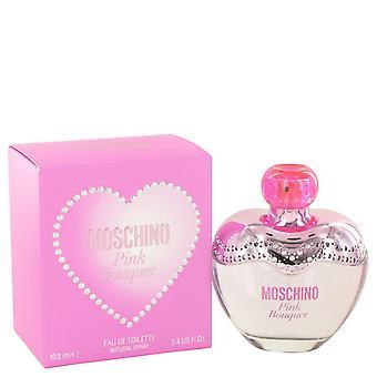 Bouquet rose Moschino de Moschino Eau De Toilette Spray 3.4 oz