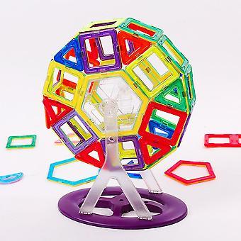 Mini Rozmiar Bloki magnetyczne, Model Konstrukcja Zestaw, Diabelski Młyn, Projektant