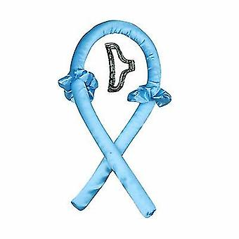 الأزرق لا الحرارة تجعيد الشعر الحرير الشريط الشباك قضيب مع مقاطع التعادل x55
