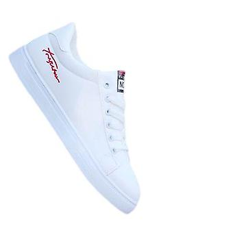 Men's White Sneakers Trendy Shoes