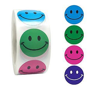 500 Aufkleber Aufkleber - Smiley/Emoji Motiv - Cartoon
