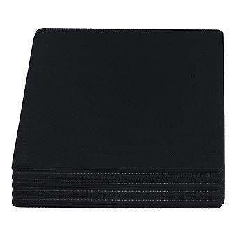 Für 50pcs Cuttable Schwarz PVC PC Fan Staub Filter staubdicht Fall Computer Mesh 140mm WS4562