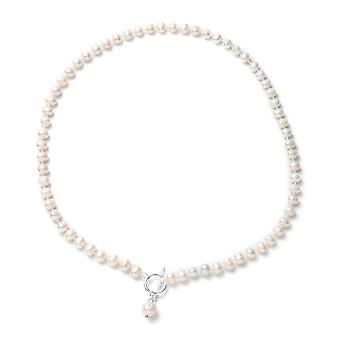 Bead String Necklace for Women 20 '' Fresh Water Pearl for Wife/Mother 0.002ct