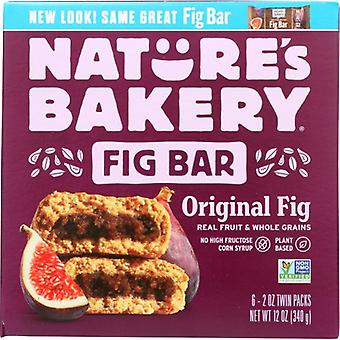 Natures Bakery Bar Fig Whlwht, Case of 6 X 12 Oz