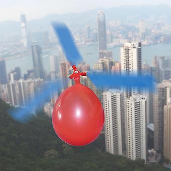 Balão helicóptero ambiental brinquedos criativos avião balão para crianças