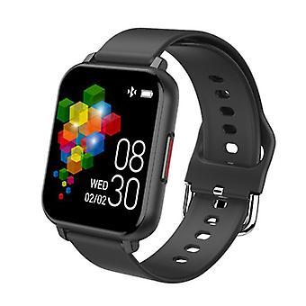 """Smart Watch, 1,54"""" berøringsskjerm Fitness Tracker med blodtrykk / oksygen / hjertefrekvensmonitor IP67 vanntett med søvn skrittteller for kvinner menn Android-telefoner iPhone (svart)"""