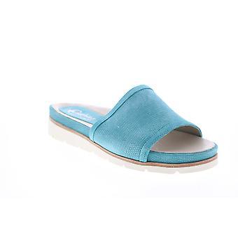 Earthies Adult Womens Crete Nubuck Slides Sandals