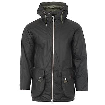 Barbour Gold Standard Scalpay Hunting Waxed Cotton Jacket - Olive
