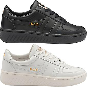 Gola Donna Grandslam Classic Pelle Pizzo Up Scarpe Sneakers Scarpe