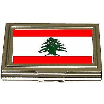 Korthållare  - Libanon flagga