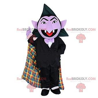 Maskotti REDBROKOLY.COM, Dracula puku, Halloween puku