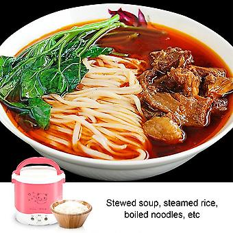 Oushiba 1l Mini Rice Cooker Electric Rice Cooker Cute Pattern Auto Rice Cooker