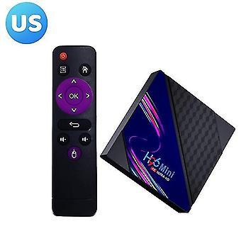 H96 mini v8 rk3228a 4k hd hálózati lejátszó médialejátszó tv box 2+16g android10.0 intelligens set-top box