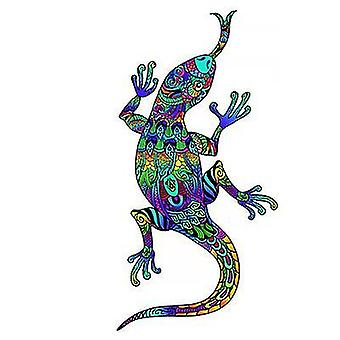 Rainbow Lizard Jigsaw Puzzle Piece Game For Kids And Adults(A5)