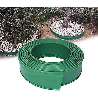 Weiche Garteneinrandung 10cm breiter Kunststoff rasen 1m Einrandung zum Pflanzen von Randweg Rasen