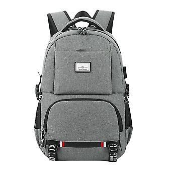 College ryggsäck med USB-laddningsport