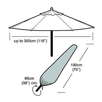 Large Parasol Cover Waterproof Polyethylene Green