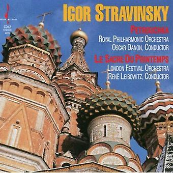 I. Stravinsky - Igor Stravinsky: Petrouchka; Le Sacre Du Printemps [CD] USA import