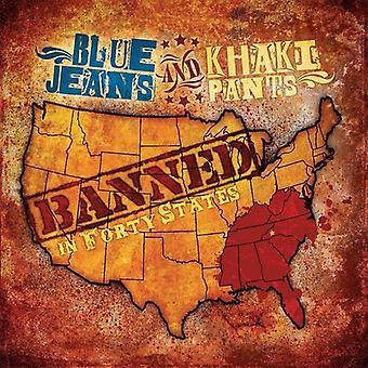 Pantaloni Jeans blu & Khaki - vietato in importazione di quaranta Stati [CD] USA