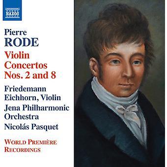 Red / Eichhorn / Jena Filharmoniske Orkester - fiolin Concertos nr. 2 & 8 - introduksjon [DVD] USA import