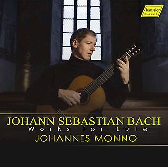Bach, J.S. / Monno - Works for Lute [CD] USA import