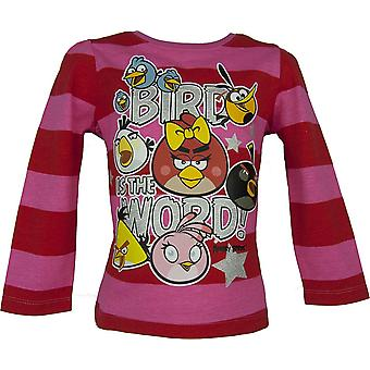 Angry Birds dlugi rękaw Top / T-Shirt