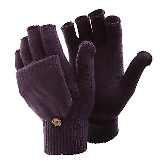 FLOSO dames/Womens Winter afgetopt vingerloze Magic handschoenen
