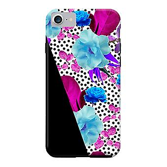 ArtsCase Designers Cases Dark Polka Florals for Tough iPhone 8 / iPhone 7