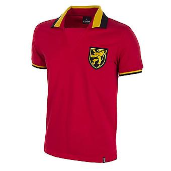 Belgium 1960's Short Sleeve Retro Football Shirt