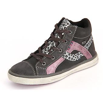 Lurchi Charcoal Suede 331377225 universal winter kids shoes