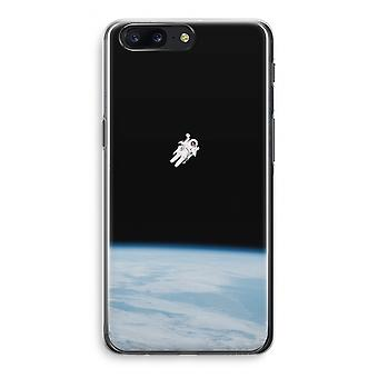 OnePlus 5 Transparant Case (Soft) - Alone in Space