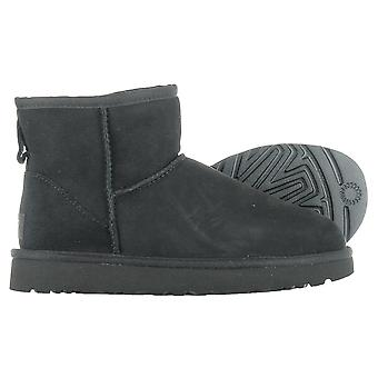 UGG clássico Mini II preto 1016222BLK inverno universal mulheres sapatos