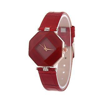 Smart diamantform Se rød juvel
