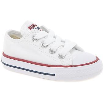 Converse Infant Oxford Lace Up Canvas Shoes