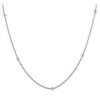 Orphelia sølv 925 kæde 42 + 3 Cm bolde ZK-7200