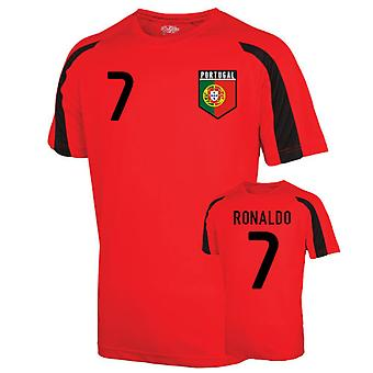 Portugal Sports Training Jersey (ronaldo 7)