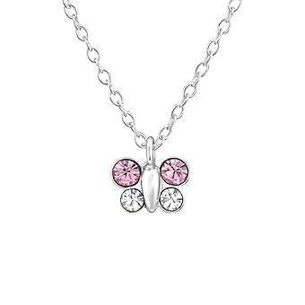 Butterfly - 925 Sterling Silver Necklaces - W37541x