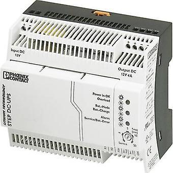Phoenix İletişim STEP-UPS/12DC/12DC/4 Demiryolu montaj UPS (DIN)