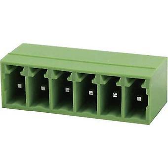 Degson Socket enclosure - PCB Total number of pins 10 Contact spacing: 3.5 mm 15EDGRC-3.5-10P-14-00AH 1 pc(s)