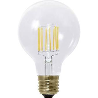 Segula LED (monochrome) EEC A+ (A++ - E) E27 Globe 6 W = 45 W Warm white (Ø x L) 80 mm x 120 mm Filament, dimmable 1 pc(s)