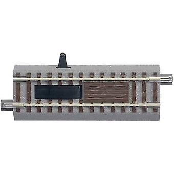 61118 H0 Roco GeoLine (incl. track bed) Uncoupling track, Electrical 100 mm