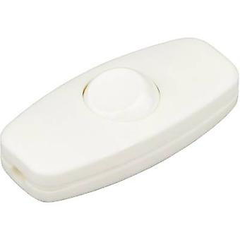 interBär 5052-008.01 Pull switch White 2 x Off/On 2 A 1 pc(s)